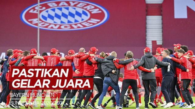 Berita Video Highlights Bundesliga, Bayern Munchen Pastikan Gelar Juara Usai Bantai Borussia Monchengladbach 6-0
