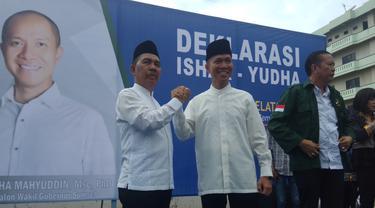 Wakil Gubernur Resmi Gandeng Ahli IT Maju Pilkada Sumsel