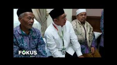 Amirul Hajj yang dipimpin Menag Lukman Hakim Saifuddin kunjungi pondokan jamaah haji di Jarwal, Makkah.