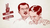 Ilustrasi Jokowi-JK (Liputan6.com/M.Iqbal)