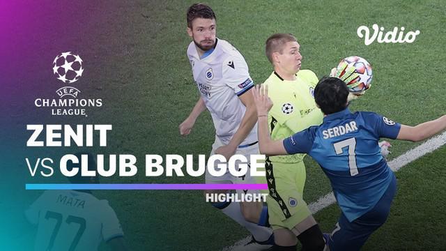 Berita video highlights Liga Champions, Club Brugge menang tipis atas Zenit 2-1, lewat gol kemenangan dari Charles De Katelaere