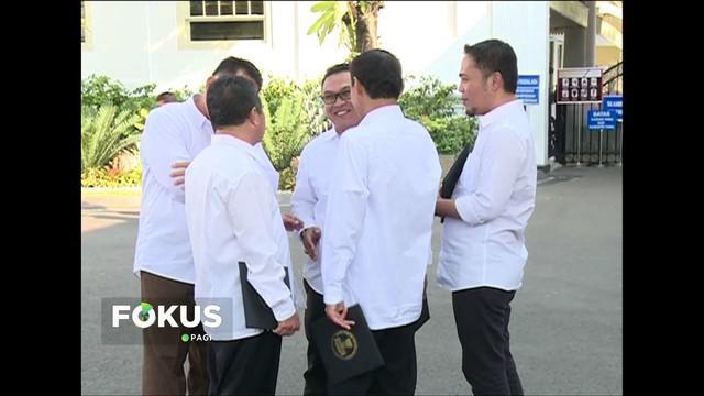 Pengurus Partai Bulan Bintang temui Presiden Jokowi di Istana Negara untuk silaturahmi tertutup.