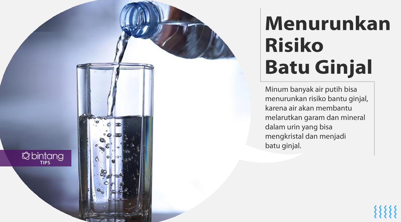 Ini dia manfaat air putih. (Foto: Deki Prayoga, Digital Imaging: Nurman Abdul Hakim/Bintang.com)