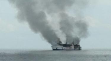 Api Belum Padam, Bagaimana Nasib Penumpang KM Dharma Kencana II?