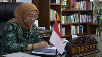 Menteri Ketenagakerjaan, Ida Fauziyah.