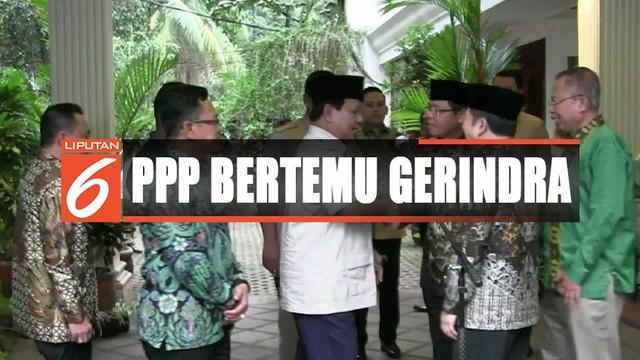 Prabowo mengatakan pertemuan tersebut untuk menyambung komunikasi politik dan persahabatan lama.