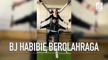BJ Habibie berulang kali diisukan meninggal, ternyata Presiden ketiga RI ini justru mengunggah momen berolahraga di Jerman. Habibie terlihat sehat dan telah pulih dari sakit.