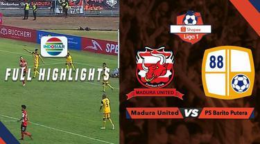 Berita video highlights Shopee Liga 1 2019. Barito Putera tahan Madura United 2-2, Sabtu (14/9/2019) di Stadion Gelora Madura, Pamekasan.