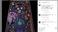 Warganet Indonesia membanjiri kolom komentar Instagram Microsoft (Foto: Tangkapan layar Instagram @microsoft)