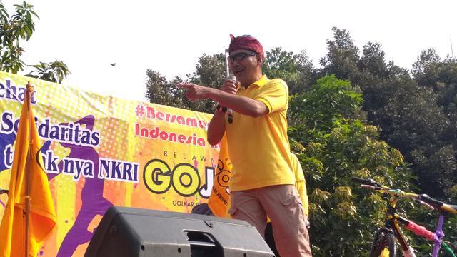 Ketua GoJo Rizal Mallarangeng (Merdeka.com/Hari Ariyanti)