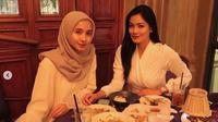Laudya Cynthia Bella dan Titi Kamal (Instagram/@laudyacynthiabella)