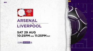 Berita Video Saksikan Partai Seru Community Shield, Arsenal Vs Liverpool Hanya di Vidio