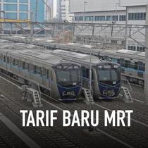 Pemprov dan DPRD DKI Jakarta akhirnya menyetujui tarif kereta Moda Raya Terpadu (MRT) Jakarta. Tarif maksimal rute Bundaran HI-Lebak Bulus dari Rp8.500 naik menjadi Rp14.000 per penumpang.
