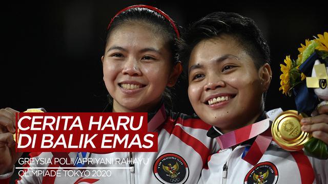 Cover Video Cerita Haru dan Inspiratif di Balik Medali Emas Greysia Polii / Apriyani Rahayu di Olimpiade Tokyo 2020