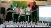 Gojek menggelar Liga Cerdikiawan di Yogyakarta untuk merangkul para pelajar semakin dekat dengan super apps buatan anak bangsa ini. (Liputan6.com/ Switzy Sabandar)
