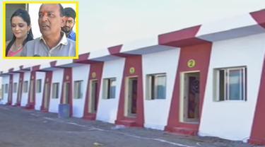 Pria Kaya Donasikan 108 Rumah Bagi Gelandangan Sebagai Mas Kawin