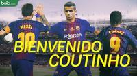 Coutinho ke Barcelona (Bola.com/Adreanus Titus)