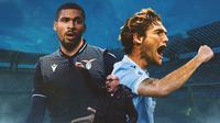 Lazio - Maurizio Sarri, Ruben Loftus-Cheek, Marcos Alonso (Bola.com/Adreanus Titus)