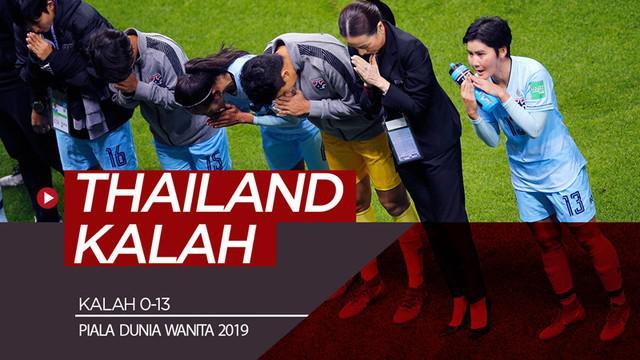 Beberapa fakta menarik hadir saat Thailand kalah 0-13 dari Amerika Serikat di Piala Dunia Wanita 2019, Selasa (11/6/2019).