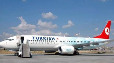 Maskapai Turkish Airlines menyebut larangan laptop pada penerbangan AS dari negara Muslim akan segera berakhir. (AFP)