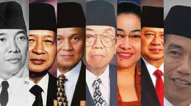 Ini adalah 7 gaya pelantikan menteri di Indonesia dari Presiden pertama hingga ketujuh: