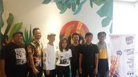 Kaum milenial di Yogyakarta memiliki cara sendiri untuk mengkampanyekan anti golput (Liputan6.com/ Switzy Sabandar)