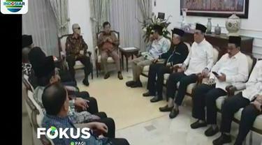 Dalam pertemuan yang berlangsung tertutup itu, salah satunya dibicarakan soal situas pasca penetapan hasil pemilu 2019.