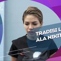 Nikita Mirzani Berbagi Rejeki Sebagai Tradisi Lebaran