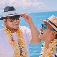 Ruben Onsu dan Ivan Gunawan dikenal sebagai salah satu presenter handal di dunia hiburan Indonesia. Siapa yang menyangka jika mereka sudah bersahabat selama 13 tahun. (Foto: instagram.com/ruben_onsu)