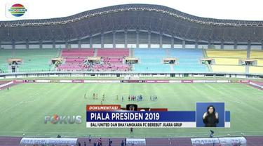 Bhayangkara FC dan Bali United tekad raih predikat juara Grup B Piala Presiden 2019.