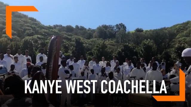 Kanye West dipastikan akan manggung di Coachella 2019. Suami Kim Kardashian ini juga akan gelar kebaktian di acara tersebut.