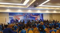Suasana sidang Kongres V PAN sempat memanas.(Liputan6/Nanda Perdana)