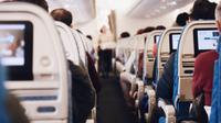 Ilustrasi penumpang pesawat (Dok.Unsplash/ Suhyeon Choi)