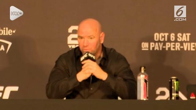 Presiden UFC angkat bicara mengenai sanksi yang akan diterima Khabib Nurmagomedov atas kericuhan yang terjadi di UFC 229.