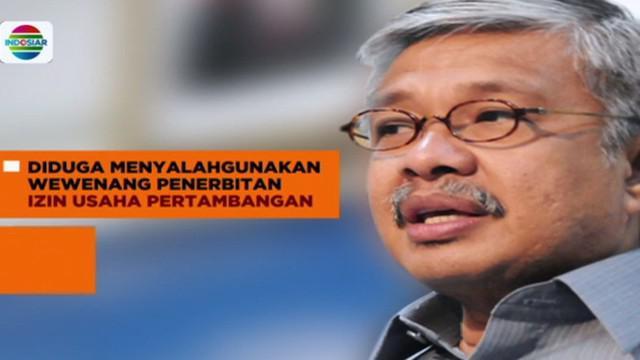 Usai diperiksa, Gubernur Sulawesi Tenggara Nur Alam langsung ditahan penyidik KPK.