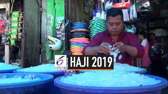 Abdul Rojak pedagang kolang kaling di Bogor menabung selama 21 tahun untuk mewujudkan keinginannya untuk berangkat haji. Rojak bersyukur Dirinya dan isterinya bisa berangkat haji tahun ini.