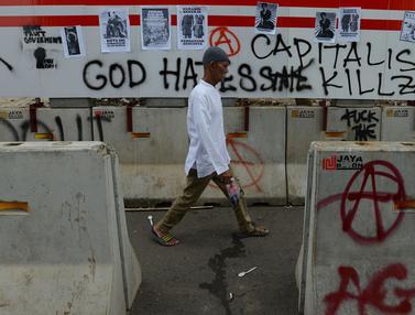 Peringatan May Day Diwarnai Aksi Vandalisme