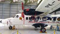 Pesawat N219 Nurtanio produksi PT Dirgantara Indonesia (Tommy Kurnia/Liputan6.com)