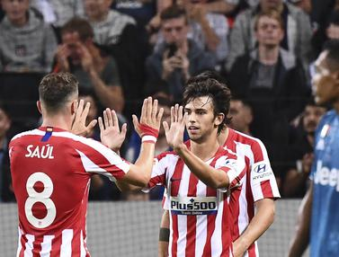 FOTO: Joao Felix Bawa Atletico Madrid Kalahkan Juventus
