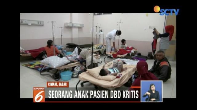 Jumlah pasien DBD di Cimahi, Jawa Barat, meningkat capai 82 pasien.