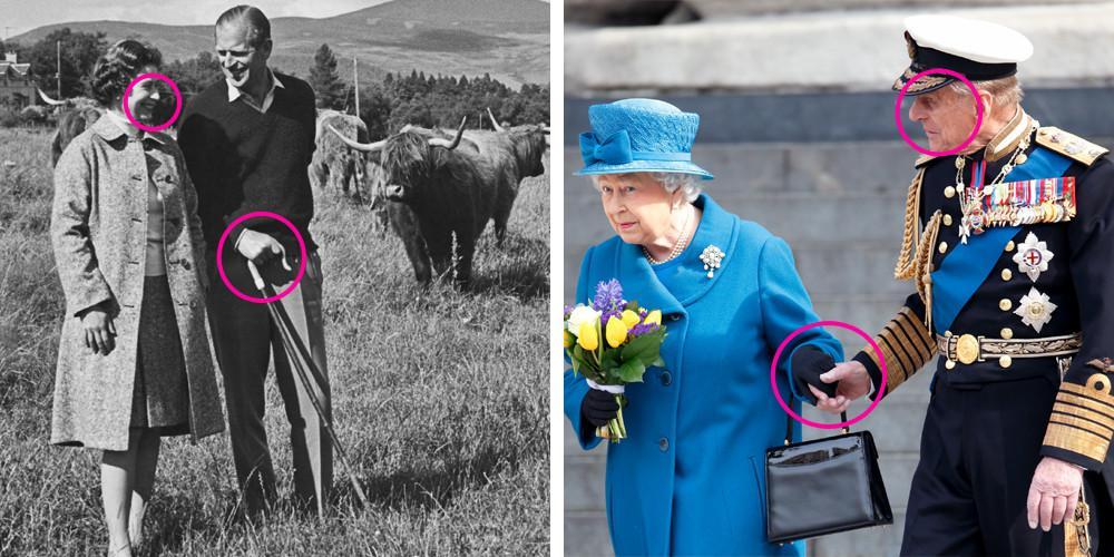 Ratu Elizabeth II dan Pangeran Philip punya gaya tersendiri saat berpegangan tangan. (Good House Keeping)
