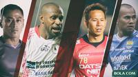 Trivia - Pemain-Pemain Gaek Di Liga 1 (Bola.com/Adreanus Titus)