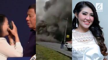 Video Hit kali ini hadir dari berita Presiden Filipina yang cium bibir pekerja perempuan, Via Vallen dikirimi pesan mesum pesepak bola terkenal, dan detik-detik Gunung Fuego di Guatemala saat erupsi.