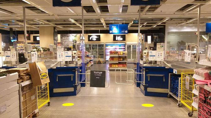 ASRI Kembali Buka Hari Ini, Pengunjung IKEA Alam Wajib Check In via Aplikasi - Bisnis Liputan6.com