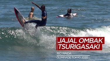 Berita Video, Rio Waida Jajal Ombak di Pantai Tsurigasaki Jelang Olimpiade Tokyo 2020