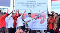 Gus Ipul saat berkampanye di Jawa Timur (Liputan6.com/Dian Kurniawan)