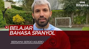 Berita Video Belajar Bahasa Spanyol Dengan Pemain Manchester City, Sergio Aguero