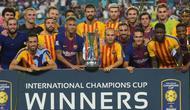 Barcelona saat menjadi juara International Champions Cup 2018. (AFP/Hector Retamal)