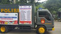 Melayani masyarakat di Bulan Ramadan, Polda Metro Jaya menggelar launching dan pelepasan gerakan stabilisasi pangan. (Liputan6.com/Nanda)
