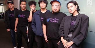 Tak lagi bersama Giring, Ini tantangan Nev Plus dalam musik tanah air.